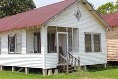 Rustikales Haus Louisianas stockbild