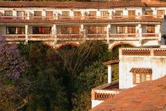 Rustikales Hotel Lizenzfreies Stockbild