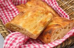 Rustikales türkisches Brot stockbild