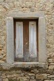 Rustikales traditionelles Fenster Stockfoto