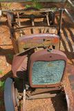 Rusting car front view Royalty Free Stock Images