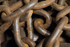 Rusting Chain Stock Photography