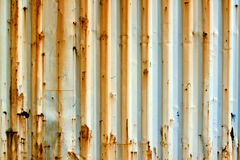 Rusting Container. The pattern on the exterior of an rusting metallic container Royalty Free Stock Photography