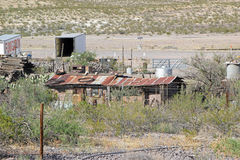 Rusting farm buildings, New Mexico Royalty Free Stock Photography