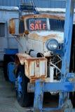 Rusting Forklift For Sale Stock Image