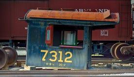 Rusting Locomotive Shell Stock Photography