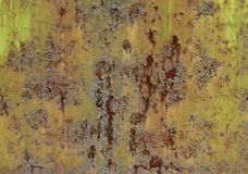 Rusting metal grunge texture Stock Photography