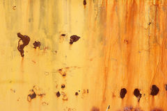 Rusting orange background Stock Photos
