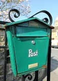 A Rusting Post Box Stock Photos