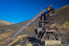 Rusting Remains of Gold Mine Stock Images