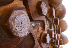 Rusting sculpture. A rusting sculpture Royalty Free Stock Photos
