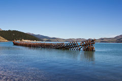 Rusting Shipwreck Royalty Free Stock Photos