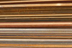 Rusting steel Stock Image