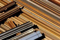 Rusting steel. Horizontal rusting steel royalty free stock photography