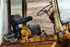 Rusting tractor cab. Stock Photos