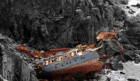 Free Rusting Wreck Stock Photography - 99178132