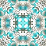 Rustique surréaliste de fractale de batik Image stock