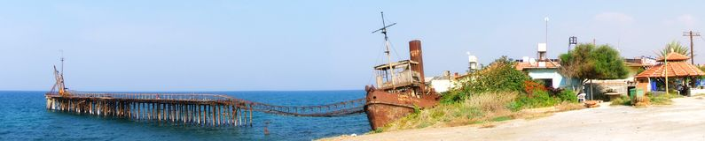 Rusty. The photography was taken in Gemikonagi, Turkish Republic of Northern Cyprus Royalty Free Stock Photos