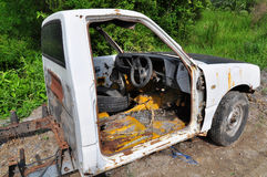 Rusty Abandoned Cars Imagen de archivo