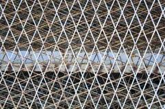 Rusty abandoned fence Royalty Free Stock Photo