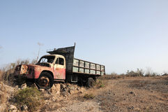 Rusty Abandoned Truck Imágenes de archivo libres de regalías