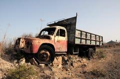 Rusty Abandoned Truck Arkivbilder