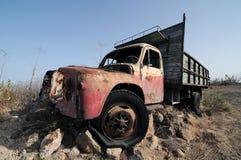 Rusty Abandoned Truck Fotos de archivo libres de regalías