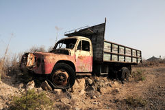 Rusty Abandoned Truck Stock Images