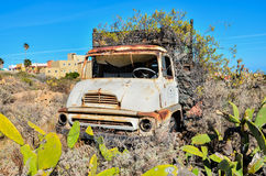 Rusty Abandoned Truck Stock Photos