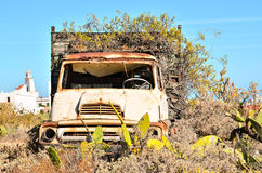 Rusty Abandoned Truck Royalty Free Stock Photography