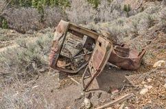 Rusty Abandoned Vehicle Stock Photo