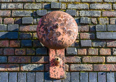 Rusty Alarm Bell Royalty Free Stock Images
