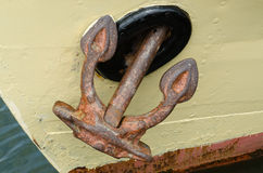 Rusty anchor Royalty Free Stock Image