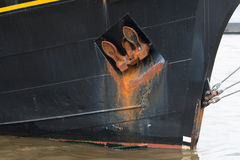 Rusty anchor Stock Photo