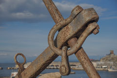 The rusty anchor Royalty Free Stock Images