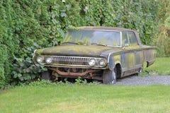 Rusty Antique 1964 Mercury Car royalty-vrije stock foto's