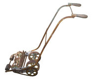 Rusty Antique Mower Royalty Free Stock Images