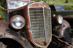 Rusty Antique Truck Royaltyfri Foto