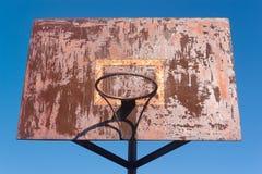 Rusty Backboard Stock Photography