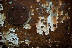 Rusty Background Royalty Free Stock Photography