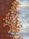 Rusty background. Abstract corroded colorful wallpaper grunge background iron rusty artistic wall peeling paint Stock Images