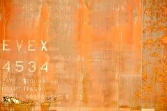Rusty Background arancio immagini stock libere da diritti