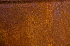 Rusty background. Closeup of a textured rusty background Royalty Free Stock Image