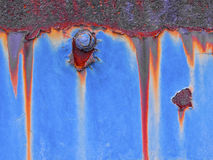 Rusty background. Metal rust texture abstract grunge background Stock Photos