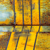 Rusty background. Metal rust texture abstract grunge background Stock Photo