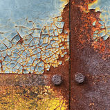 Rusty background. Metal rust texture abstract grunge background Stock Images