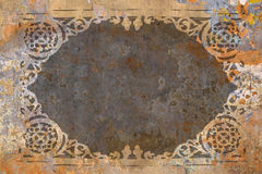 Rusty background pattern royalty free stock images