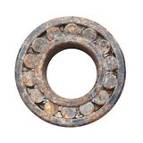 Rusty ball bearing Royalty Free Stock Images