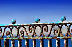 Rusty balustrade Royalty Free Stock Photos