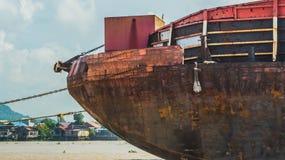 Rusty Barge fotos de archivo